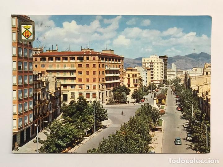 CASTELLÓN, POSTAL NO.1, AVENIDA DEL REY D. JAIME. EDIC., COMAS ALDEA (A.1964) S/C (Postales - España - Comunidad Valenciana Moderna (desde 1940))