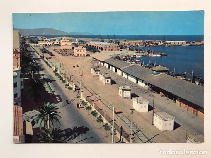 CASTELLÓN DE LA PLANA. POSTAL SERIE II, NO.6412, EL PUERTO. EDIC., CAMPAÑA Y PUIG (H.1960?) S/C (Postales - España - Comunidad Valenciana Moderna (desde 1940))