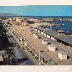 Postales: CASTELLÓN DE LA PLANA. POSTAL SERIE II, NO.6412, EL PUERTO. EDIC., CAMPAÑA Y PUIG (H.1960?) S/C. Lote 222084303