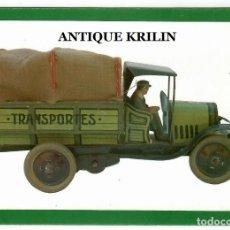 Postales: IBI / ALICANTE .- MUSEO VALENCIANO DEL JUGUETE , CAMION G.C. IBI 1928. Lote 222340732