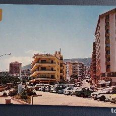 Postales: POSTAL DE CALPE (ALICANTE), 104, CALLE GABRIEL MIRO DESDE PASEO MARITIMO, SUBIRATS AÑOS 70 APROX. Lote 222354116
