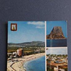 Postales: POSTAL DE CALPE (ALICANTE), 58, PLAYA DE LEVANTE, SUBIRATS AÑOS 70 APROX. Lote 222354197