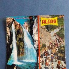 Postales: POSTAL DE CALLOSA DE ENSARRIA (ALICANTE), 23, FUENTES DEL ALGAR, GALIANA AÑOS 70 APROX. Lote 222354393