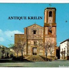 Postales: LA NUCIA / ALICANTE Nº 736 PARROQUIA PURISIMA CONCEPCION .- FOTO RUECK. Lote 222381815