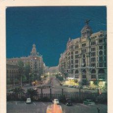 Postales: POSTAL AVDA. MARQUÉS DE SOTELO. VALENCIA (1962). Lote 222393445