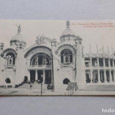 Postales: 119 EXPOSICIÓN REGIONAL VALENCIANA - FACHADA SALÓN DE ACTOS - THOMAS - VALENCIA. Lote 222557960