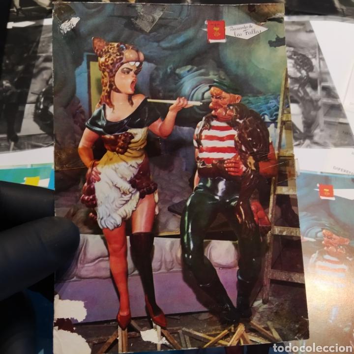 Postales: ¡IRREPETIBLE! Valencia Ninots de Falla EL PERGAMINO Lote de clichés de imprenta + positivo - Foto 15 - 222592410