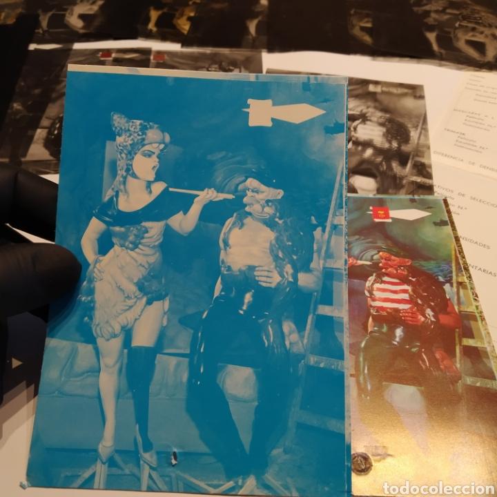 Postales: ¡IRREPETIBLE! Valencia Ninots de Falla EL PERGAMINO Lote de clichés de imprenta + positivo - Foto 18 - 222592410