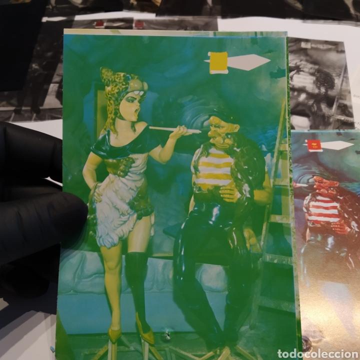 Postales: ¡IRREPETIBLE! Valencia Ninots de Falla EL PERGAMINO Lote de clichés de imprenta + positivo - Foto 19 - 222592410