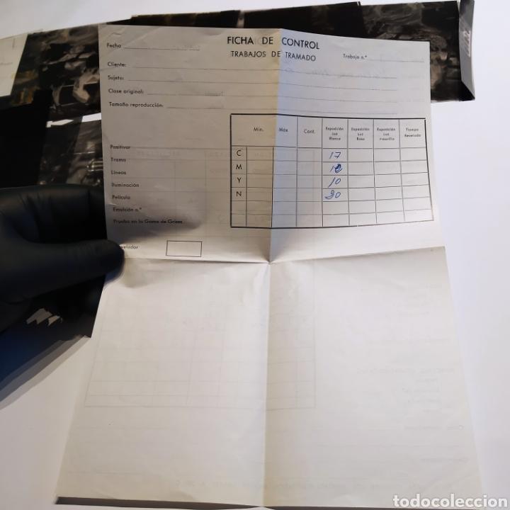 Postales: ¡IRREPETIBLE! Valencia Ninots de Falla EL PERGAMINO Lote de clichés de imprenta + positivo - Foto 22 - 222592410