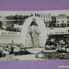 Postales: ANTIGUA TARJETA POSTAL FOTOGRÁFICA RECUERDO DE ALTURA CON NTRA. SRA. DE GRACIA - AÑO 1960S.. Lote 222823988