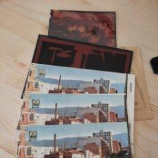 Postales: CANALS / VALENCIA .- AVDA. VICENTE FERRI .- POSTAL , NEGATIVOS Y PRUEBAS DE COLOR / EDI. PERGAMINO. Lote 222898190