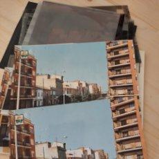 Postales: CANALS / VALENCIA .- AVDA. VICENTE FERRI .- POSTAL , NEGATIVOS Y PRUEBAS DE COLOR / EDI. PERGAMINO. Lote 222898756