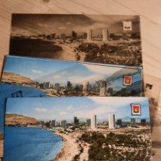 Postales: ALBUFERETA / ALICANTE .- CAMPING BAHIA .- POSTAL / NEGATIVOS , PRUEBAS DE COLOR .- EDI. PERGAMINO. Lote 223005382