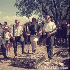 Postales: DIAPOSITIVA ESPAÑA CASTELLÓN TERESA 1965 GRAN FORMATO 55MM SPAIN FOTO PHOTO VISTAS CAZADOR CAZA. Lote 223203135