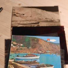 Postales: JAVEA / PUERTO DEPORTIVO / POSTALES DE PRUEBA DE COLOR Y NEGATIVOS / EDICIONES PERGAMINO. Lote 223478870