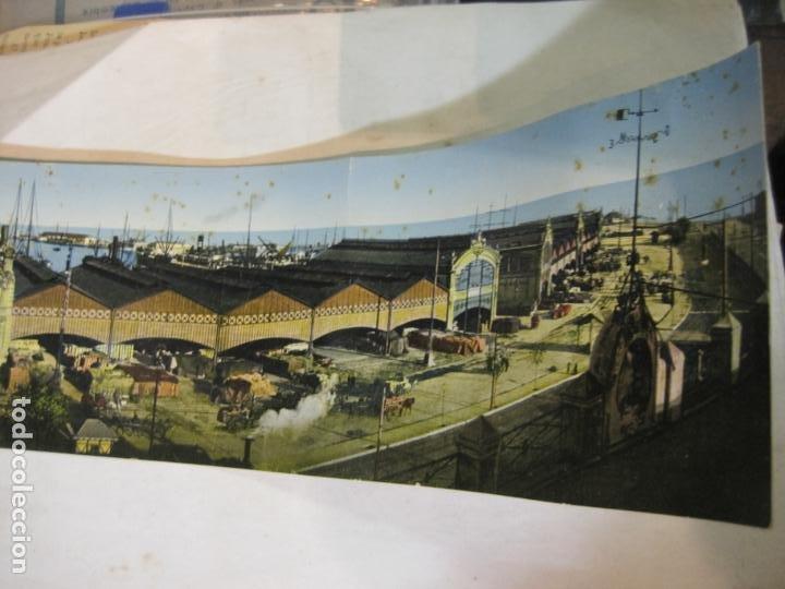 Postales: VALENCIA-VISTA GENERAL DEL PUERTO-POSTAL CUADRUPLE ANTIGUA-VER FOTOS-(K-1011) - Foto 4 - 224237658