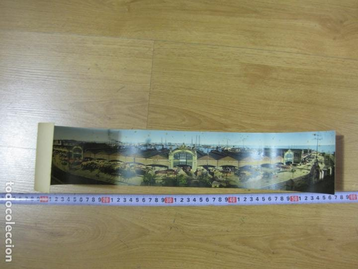 Postales: VALENCIA-VISTA GENERAL DEL PUERTO-POSTAL CUADRUPLE ANTIGUA-VER FOTOS-(K-1011) - Foto 6 - 224237658