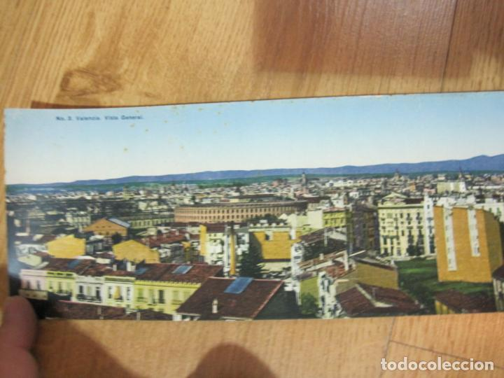 Postales: VALENCIA-VISTA GENERAL-CASTAÑEIRA Y ALVAREZ-POSTAL CUADRUPLE ANTIGUA-THOMAS-VER FOTOS-(K-1013) - Foto 3 - 224238995