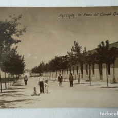 Postales: POSTAL FOTOGRAFICA PATERNA, PASEO DEL CORONEL GIALDINI J.D.P.. Lote 225325800