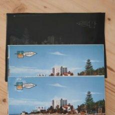 Postales: BENICASIM / PLAYA DE LAS VILLAS .- POSTAL , NEGATIVOS Y PRUEBAS DE COLOR / EDICIONES PERGAMINO. Lote 225789265