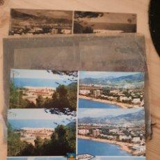 Postales: BENICASIM / VARIAS VISTAS / POSTAL , NEGATIVOS Y PRUEBAS DE COLOR .- EDICIONES PERGAMINO. Lote 225790430