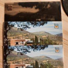 Postales: BENICASIM / HOSTAL DESIERTO DE LAS PALMAS / POSTAL , NEGATIVOS Y PRUEBAS DE COLOR .- EDI. PERGAMINO. Lote 225843040