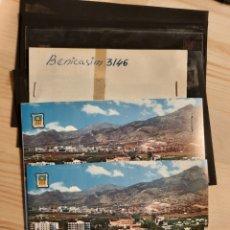 Postales: BENICASIM / LAS VILLAS .- POSTAL , NEGATIVOS Y PRUEBAS DE COLOR / EDICIONES PERGAMINO. Lote 225845675