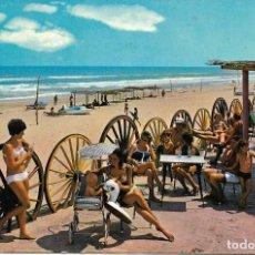 Postales: CAMPING OLÉ, DE OLIVA ( VALENCIA ). 1973. Lote 225883618