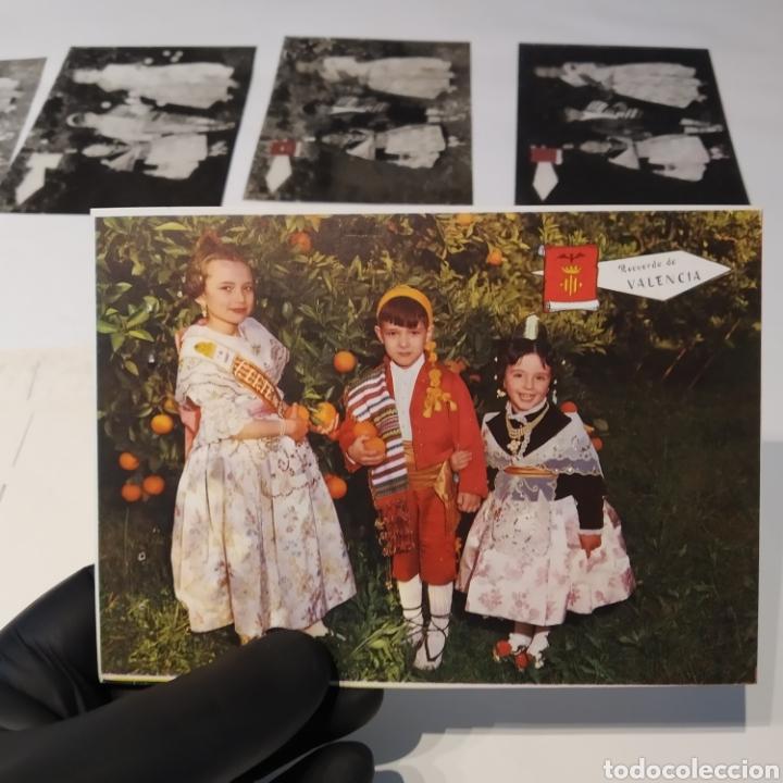 Postales: ¡IRREPETIBLE! Valencia , Cogiendo Naranjas EL PERGAMINO 3031 Clichés + pruebas de capas + postal - Foto 9 - 225900130