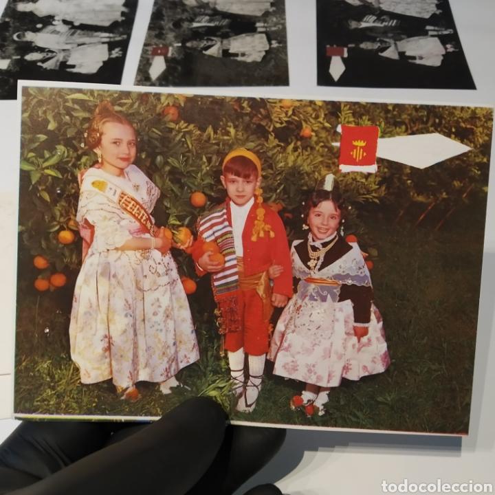 Postales: ¡IRREPETIBLE! Valencia , Cogiendo Naranjas EL PERGAMINO 3031 Clichés + pruebas de capas + postal - Foto 10 - 225900130