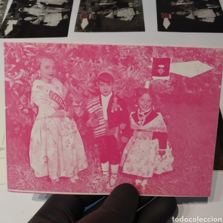 Postales: ¡IRREPETIBLE! Valencia , Cogiendo Naranjas EL PERGAMINO 3031 Clichés + pruebas de capas + postal - Foto 11 - 225900130