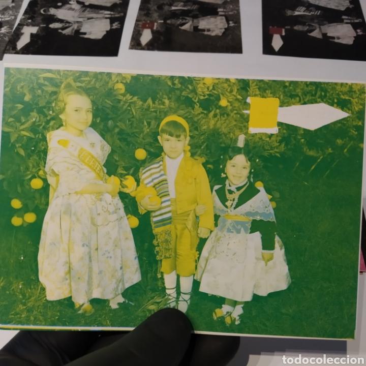 Postales: ¡IRREPETIBLE! Valencia , Cogiendo Naranjas EL PERGAMINO 3031 Clichés + pruebas de capas + postal - Foto 12 - 225900130