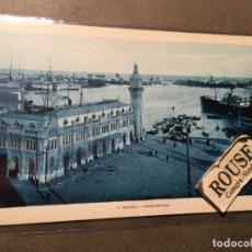 Postales: 3 .- VALENCIA , ESTACION MARITIMA -L. ROISIN FOT. 14X9 CM.. Lote 226591190