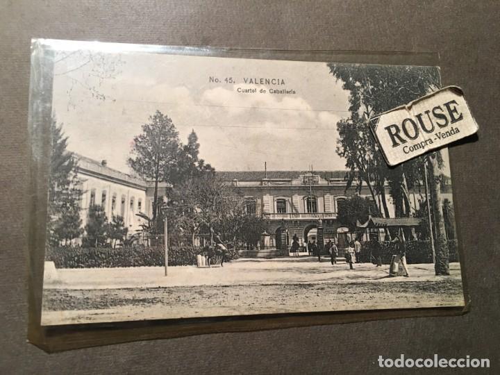 Nº45 VALENCIA - CUARTEL DE CABALLERIA COLECC. E.B.P. VALENCIA - 14X9 CM. (Postales - España - Comunidad Valenciana Antigua (hasta 1939))