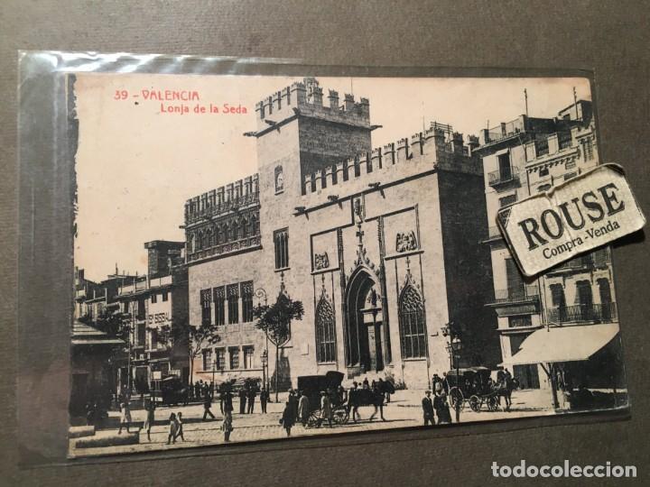 39 VALENCIA - LONJA DE LA SEDA THOMAS - 14X9 CM. (Postales - España - Comunidad Valenciana Antigua (hasta 1939))