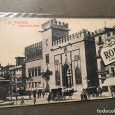 Postales: 39 VALENCIA - LONJA DE LA SEDA THOMAS - 14X9 CM.. Lote 226611910