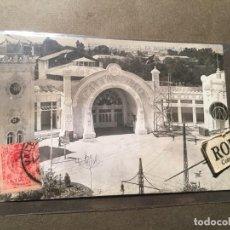 Postales: VALENCIA - POSTAL FOTOGRAFICA EXPOSICION DE VALENCIA 1910 - TEATRO-CIRCO ANDRES FABERT CIRCULADA. Lote 226613475
