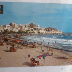 Postales: POSTAL 75 BENIDORM. PLAYA DE PONIENTE. A. SUBIRATS. ESCRITA. Lote 226619950