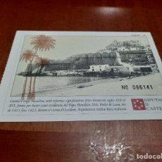 Postales: CASTELL DE PEÑÍSCOLA. ENTRADA-POSTAL. SIN CIRCULAR. BUEN ESTADO. DIFICIL. Lote 227277985