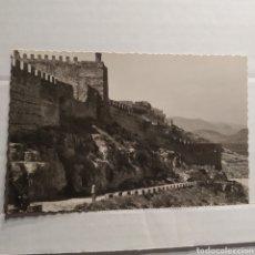 Postales: 12 SAGUNTO (VALENCIA) SUBIDA AL CASTILLO, GARCIA GARRABELLA. Lote 227637400