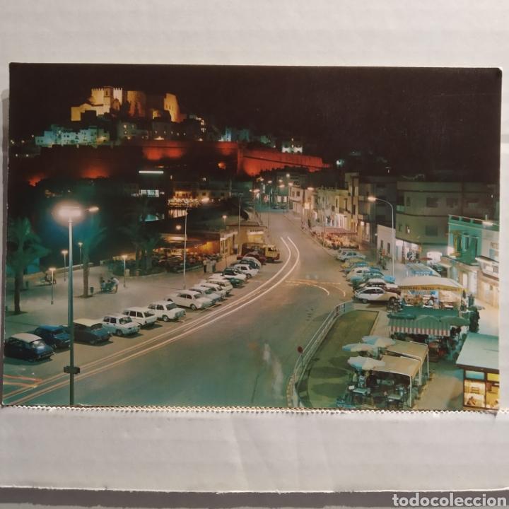 18 PEÑÍSCOLA (COSTA DEL AZAHAR), VISTA PARCIAL NOCTURNA, EDICIONES ARRIBAS (Postales - España - Comunidad Valenciana Moderna (desde 1940))