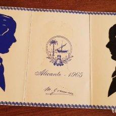 Postales: ANTIGUA TARJETA ALICANTE 1965 M. GRIMON ? RARA. Lote 227717130