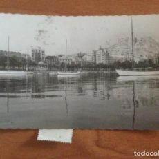Postales: POSTAL VISTA PARCIAL DEL PUERTO DE ALICANTE. Lote 228019750