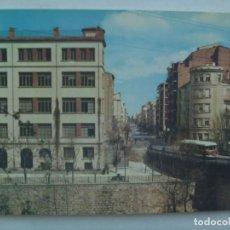 Postales: POSTAL DE ALCOY ( ALICANTE ): PUENTE DE SAN ROQUE. AÑOS 60. Lote 228191495