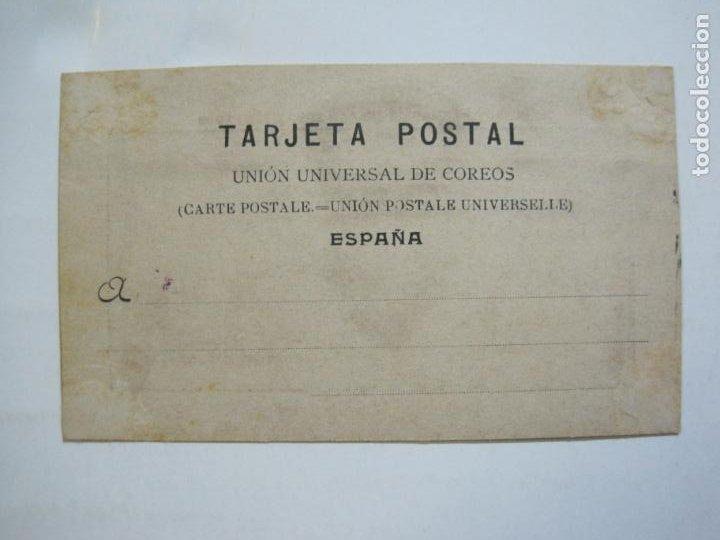 Postales: VINAROZ-PLAZA DE TOROS-REVERSO SIN DIVIDIR-FIESTAS CENTENARIAS SAN SEBASTIAN 1910-POSTAL-(76.369) - Foto 3 - 229595025