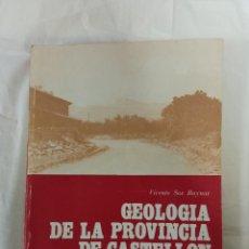 Postales: GEOLOGIA DE LA PROVINCIA DE CASTELLON. Lote 232153515
