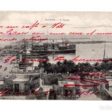 Cartoline: ALICANTE.- EL PUERTO.. Lote 232205570