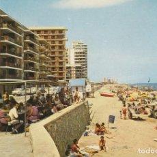 Postales: 1972 POSTAL PLAYA LAS PALMERAS (SUECA) VALENCIA.. Lote 233056915