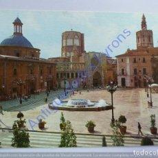 Cartoline: VALENCIA. PLAZA DE LA VIRGEN. Lote 233657170